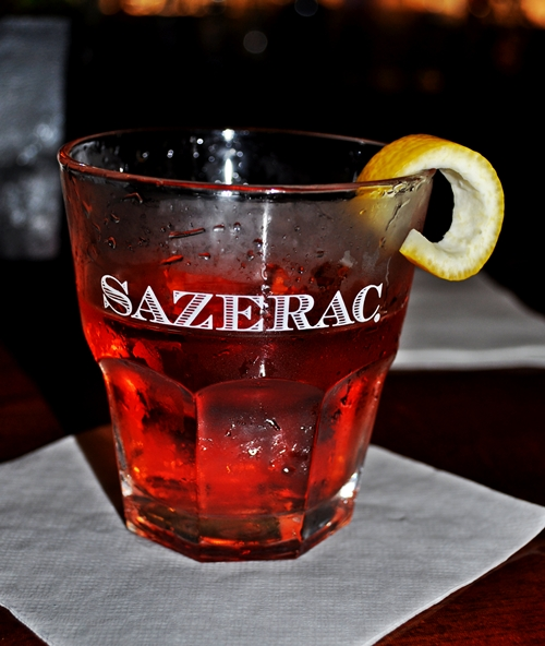 ... and named it for his favorite French brandy, Sazerac-de-Forge et fils
