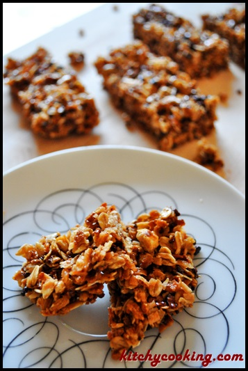 Honey Nut Cheerios Medley Crunch Granola Bars - Kitchy Cooking