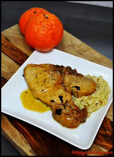 Citrus-Marinated Pork Chops - Kitchy Cooking