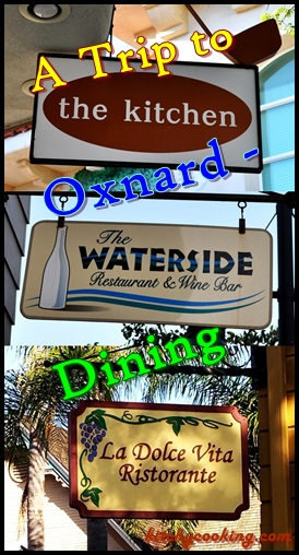 labeled dining sign